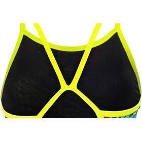 Turbo Kriptonite Revolution Traje de Baño con tiras finas Mujer, yellow